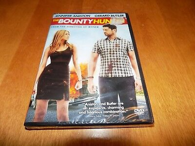 THE BOUNTY HUNTER JENNIFER ANISTON GERALD BUTLER Action Comedy DVD SEALED NEW