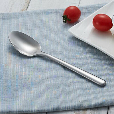 Dinner Table Buffet Salad Spoon Stainless Steel Cutlery Soup Spoons Kitchen Tool