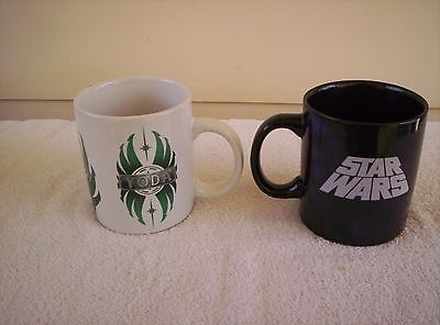 2 x STAR WARS cups / mugs  MINT condition.