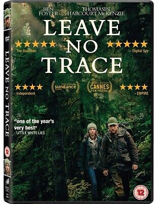 Leave No Trace DVD New 2018 Region 2
