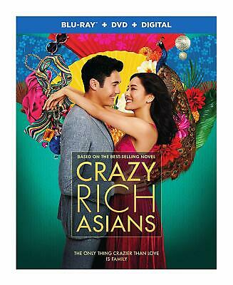 Crazy Rich Asians Standard Edition NR Blu-ray + DVD + Digital Combo Pack discs 2