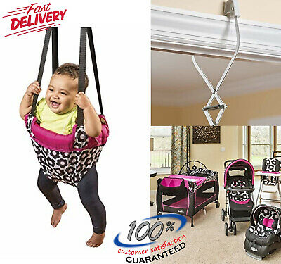 f5db05b403ea EVENFLO EXERSAUCER PORTABLE Doorway Jumper Baby Swing Jump Up ...
