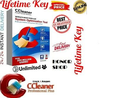 CCleaner Professional 2019  ✅ Windows✅ Lifetime KEY