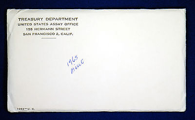 "1963 Official U.S. Mint Set. 10 Coins. All ""PD"" mints. Envelope Still Sealed."
