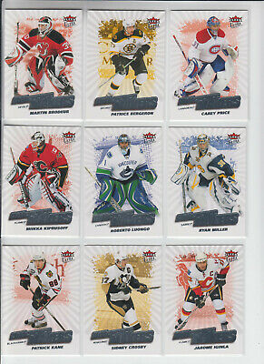 08/09 Fleer Ultra Boston Bruins Patrice Bergeron Difference Makers card #DM17