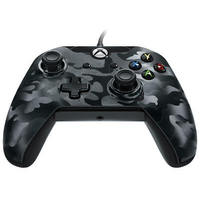 PDP Wired Controller for Xbox One - Black Camo Dual rumble motors