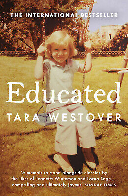 Educated by Tara Westover - Bestselling Biography Memoir Book - Paperback