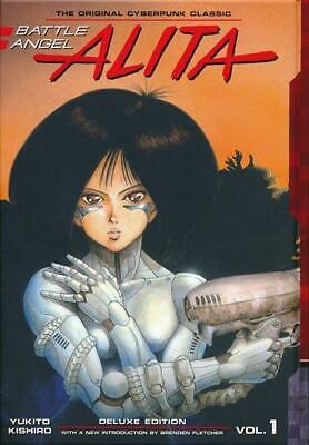 BATTLE ANGEL ALITA DELUXE EDITION VOL #1 HARDCOVER Kodansha Comics HC