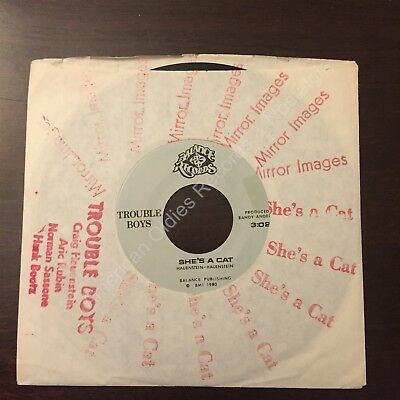 """RARE New Wave (45) TROUBLE BOYS """"Mirror Images"""" (Denver, CO) '80 DIY sleeve EXC!"""