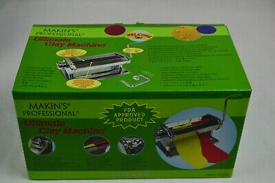 Makin's Professional Ultimate Clay Machine, New In Box