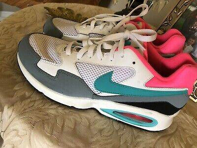 Men's Nike Air Max ST Running Shoes, 652976 -101  mens size 10.5  Pink/wht/Grey
