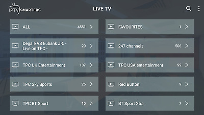 1,3,6,12 Months - IPTV Subscription - USA & UK & SPANISH Ch+VOD 2 DEVICES