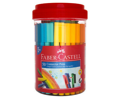Faber-Castell Connector Pens 50-Pack