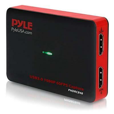 Pyle Video Game Capture Card Device Video Recorder