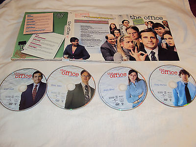 OFFICE SEASON TWO 2 DVD 4 Discs And Art Case Near Mint To VG Viewed Once