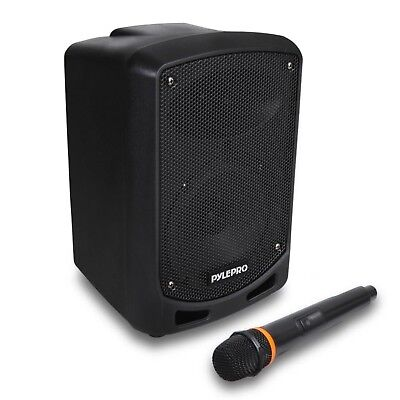 Pyle Portable Indoor/Outdoor Bluetooth PA Speaker System w/ Wireless Mic