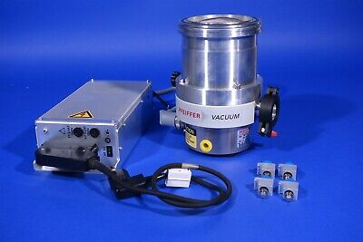 Pfeiffer TMH260 Turbo Pump + TCP 120 Power Supply / Controller + Cables - Tested