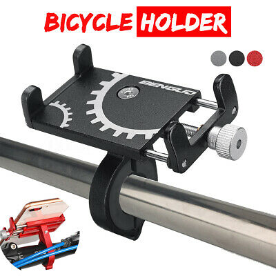 Aluminum Alloy Motorcycle Bicycle Bike Handlebar Mount Holder For Cell Phone GPS