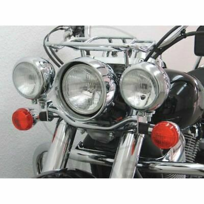 TELAIETTO PORTA FARI SUPPLEMENTARI CROMO HONDA 750 VT CA Shadow RC50 2004-2009