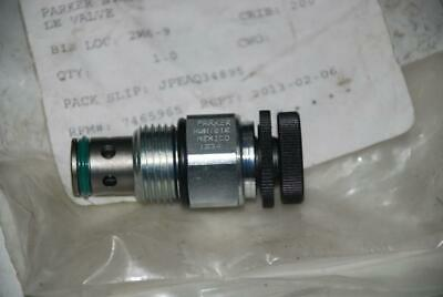 Parker NVH101K Hydraulic Cartridge Needle Valve 16GPM @ 3000 PSI - Meter / Drain