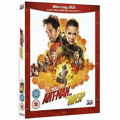 Ant-Man and the Wasp [3D + Blu-ray] [2018] Blu-ray