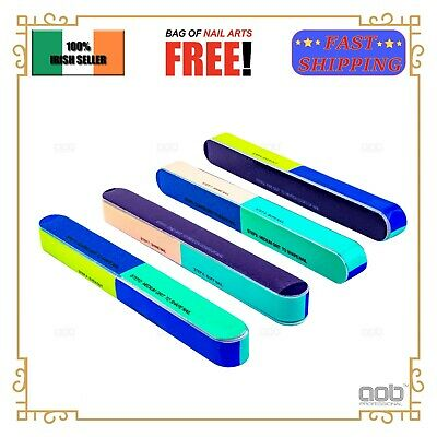 2/4 Pcs 7in1 Nail File and Buffer Block EU Stock