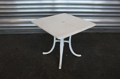 Table Angulaire Blanc Outdoortisch Table Gastrotisch Rapide
