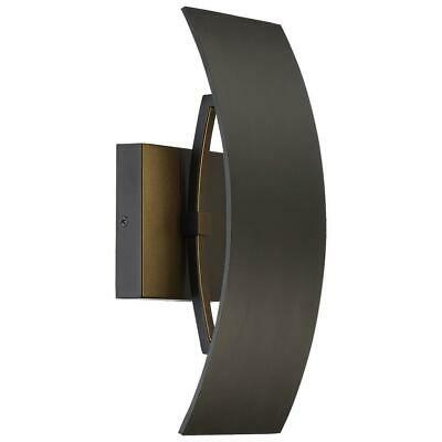 Good Lumens by Madison Avenue Oil Rubbed Bronze Outdoor LED Wall Mount #23640
