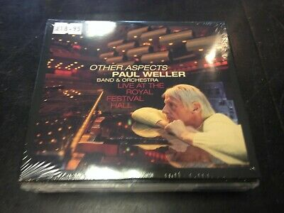 Paul Weller Band & Orchestra - Other Aspects Live @ Rah 2-Cd + Dvd New Mint 2019
