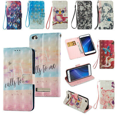 For Xiaomi Redmi Note 4X Note 5A Leather Case Cover Magnetic Stand Card Wallet