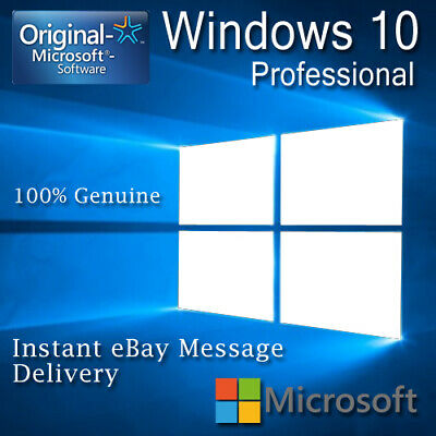 Genuine Windows 10 Professional Pro Key 32||64 Bit Activation Code License Key