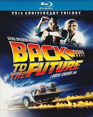 Back to the Future: 25th Anniversary Trilogy (Blu-ray Disc, 2011, 6-Disc set)