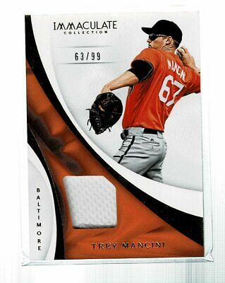 another chance 4ab70 423cc 2017 PANINI IMMACULATE Trey Mancini 5 Piece Patch Jersey ...