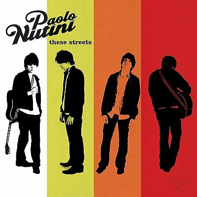 Paolo Nutini ( New Sealed Cd ) These Streets ( Debut )
