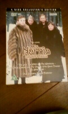 The Chronicles Of Narnia (DVD, 2003, 4-Disc Set) BBC