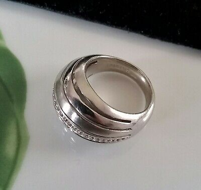 Luxus Design Ring + VIVENTY + 925 Sterling Silber + ZIRKONIAS * 17,2 mm ~ Gr. 54