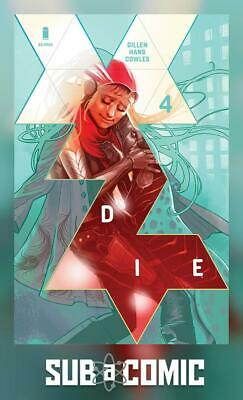 DIE #4 COVER A HANS (IMAGE 2019 1st Print) COMIC