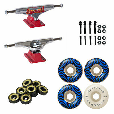 INDEPENDENT 149MM Trucks SLAVE 54MM 99A ECONOSLAVE Wheels BEARINGS Package