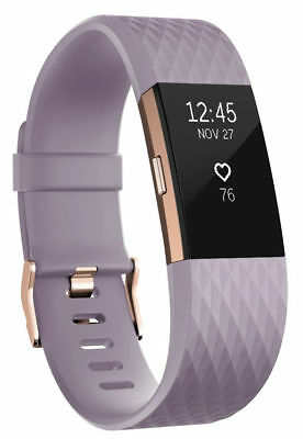 FITBIT CHARGE 3 Activity Tracker - Lavender Woven/ Rose Gold