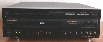 Pioneer DVL-V888 High-End CD CD-G VCD LaserDisc LD DVD MOVIE & KARAOKE Player EX