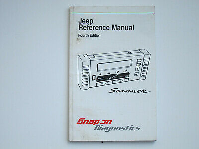 Snap-on Jeep Reference Manual 4th Edition use with MT2500 scanner