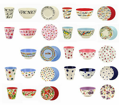 Emma Bridgewater Melamine Picnic, Children Plates Cups and Bowls