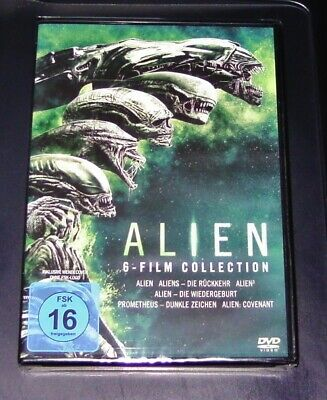 Alien 6 Film Collection y compris Prométhée / Alien Covenant DVD