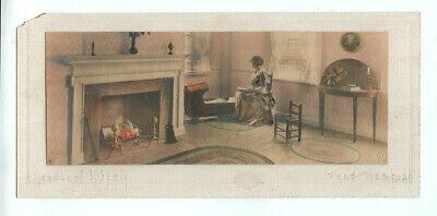 """c1910-20 Hand Colored Platinum Print """"Cradle of Liberty"""" by Fred Thompson, Portl"""