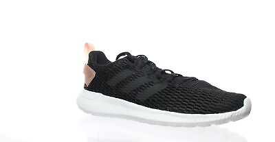 best sneakers d6b08 af2e5 Adidas Womens Cf Lite Racer Cc Black Running Shoes Size 9.5 (190223)