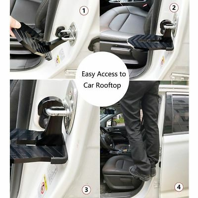 Doorstep Vehicle Access Roof Car Auto Door Step Latch Easily Rooftop Pedal L3