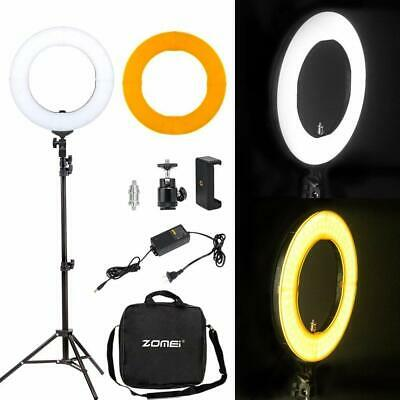 ZOMEI Makeup Ring Light LED Photographic Lighting for Selfie Photography 14""