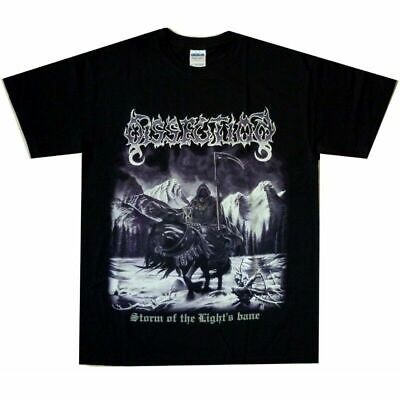 Dissection Storm Of Lights Bane Shirt Tee M-3XL US Black Death Metal Ofc T-Shirt