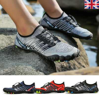 Unisex Mens Womens Aqua Water Shoes Swimming Diving Wetsuit Surf Lace Up Couples