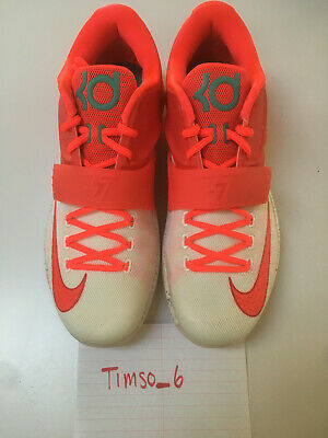 timeless design 88911 6d21d NIKE KD VII Eggnog Christmas Size 10.5 brand new NEVER USED WITH BOX
